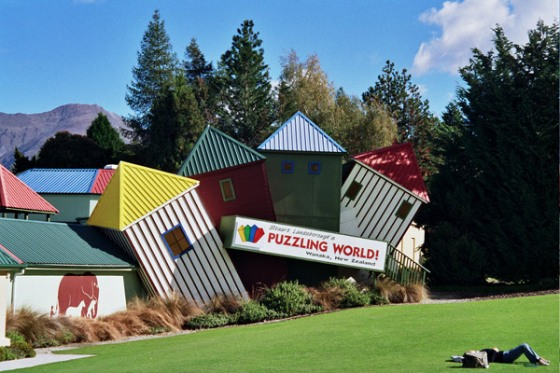 Puzzling World Lake Wanaka (Otago, New Zealand)